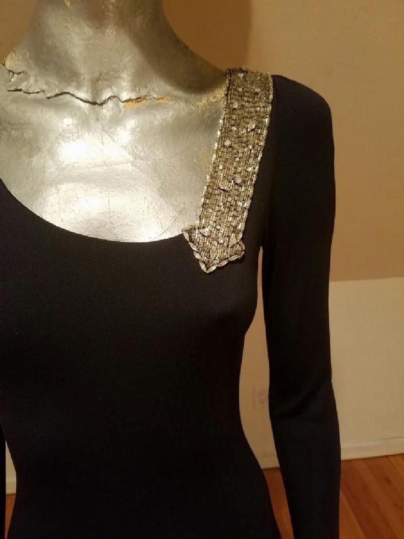 Vintage Mollie Parnis Couture jewelled embellished - 8