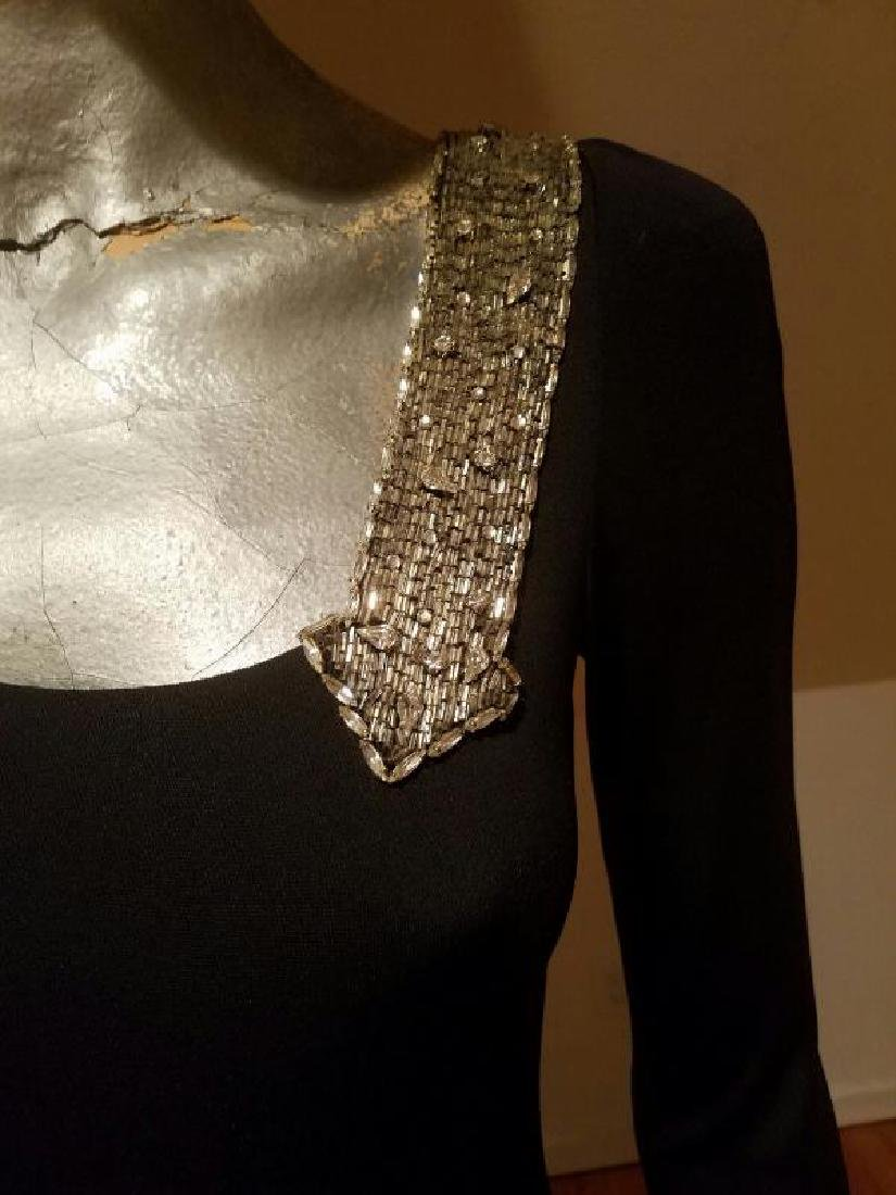 Vintage Mollie Parnis Couture jewelled embellished - 9