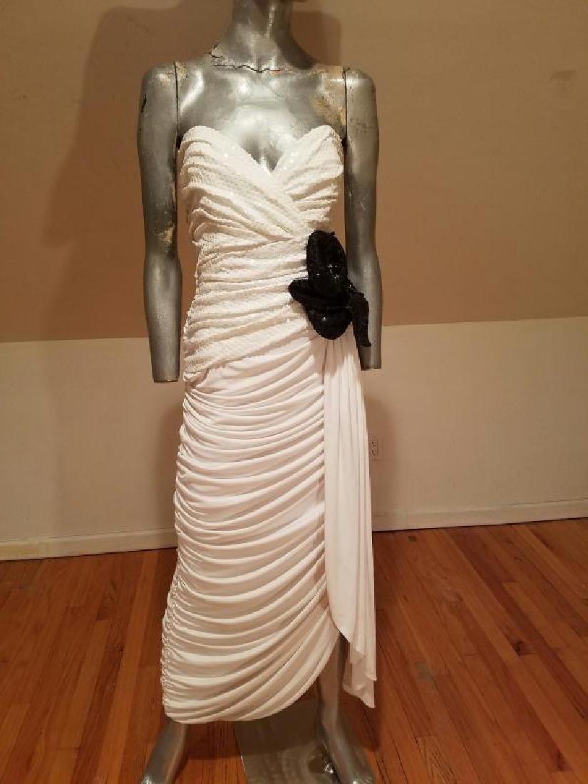 Vtg Eugene Alexander Couture gown Sarasota Museum - 2