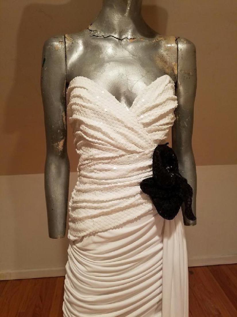 Vtg Eugene Alexander Couture gown Sarasota Museum - 3