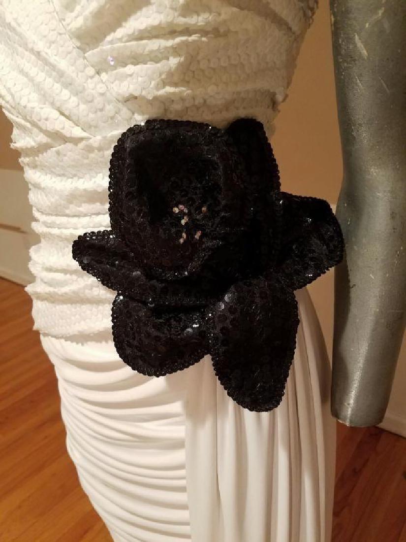 Vtg Eugene Alexander Couture gown Sarasota Museum - 5