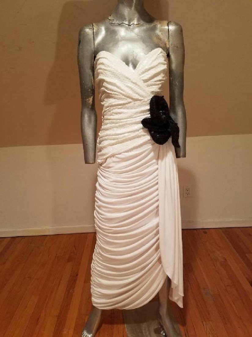 Vtg Eugene Alexander Couture gown Sarasota Museum - 6