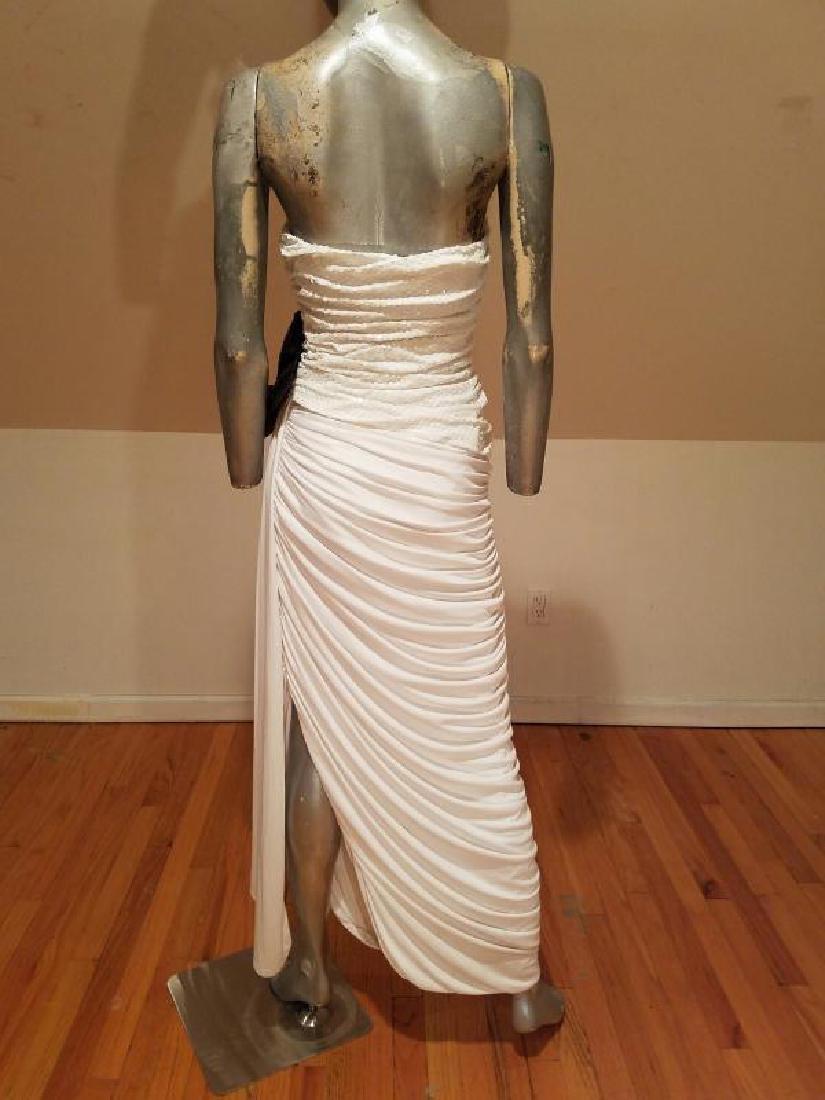 Vtg Eugene Alexander Couture gown Sarasota Museum - 7