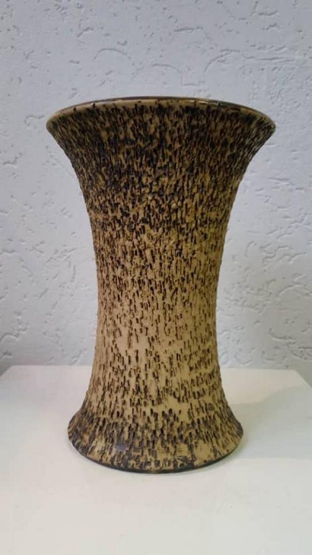 Vintage Chamotte Clay Vase