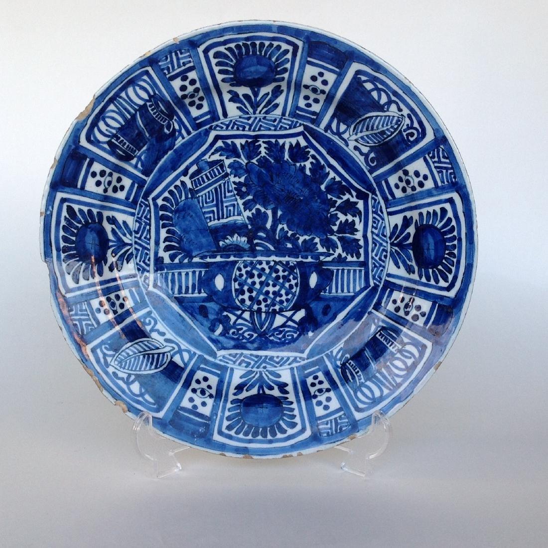 """An Dutch Delft plate """"WanLI"""""""