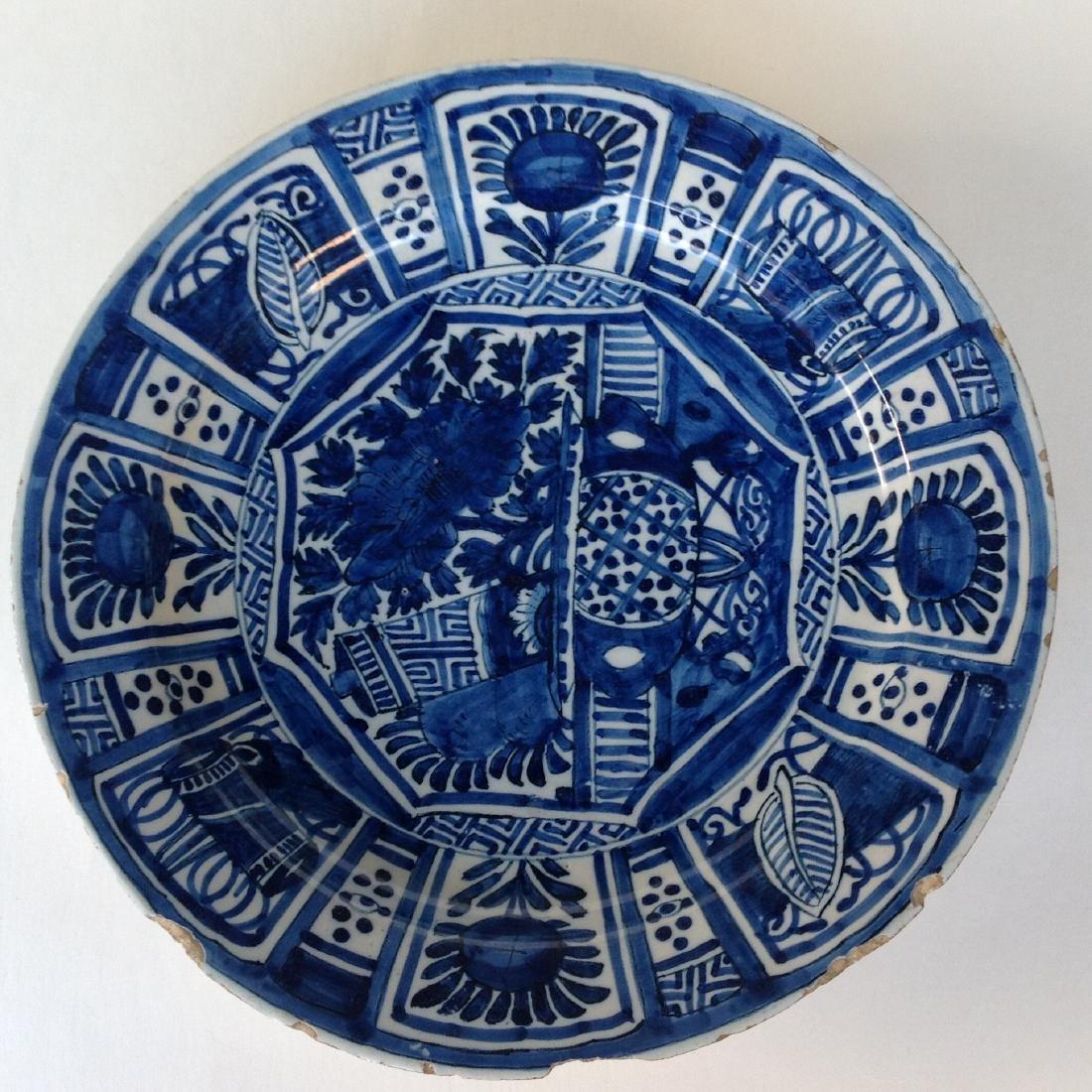 """An Dutch Delft plate """"WanLI"""" - 2"""