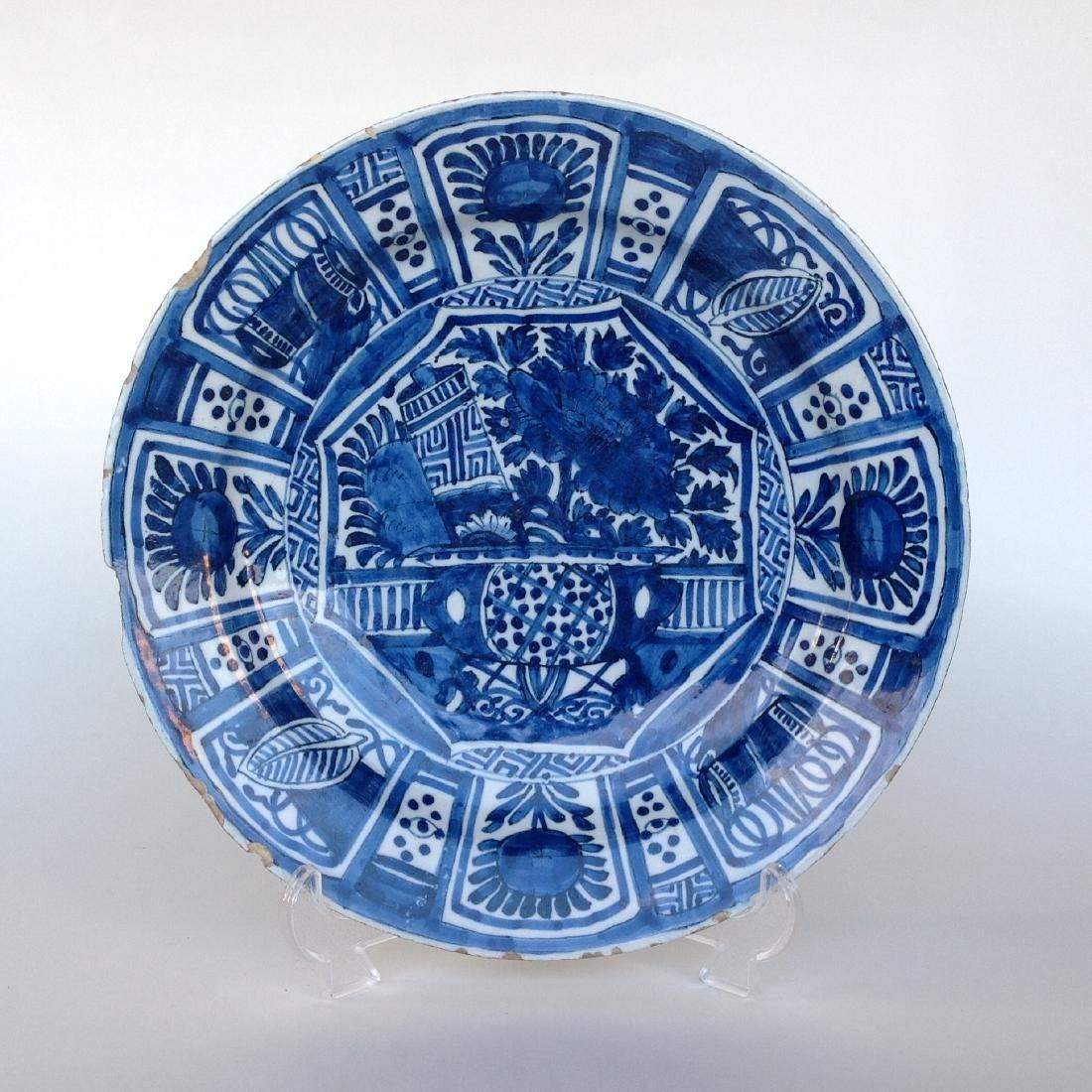 """An Dutch Delft plate """"WanLI"""" - 3"""