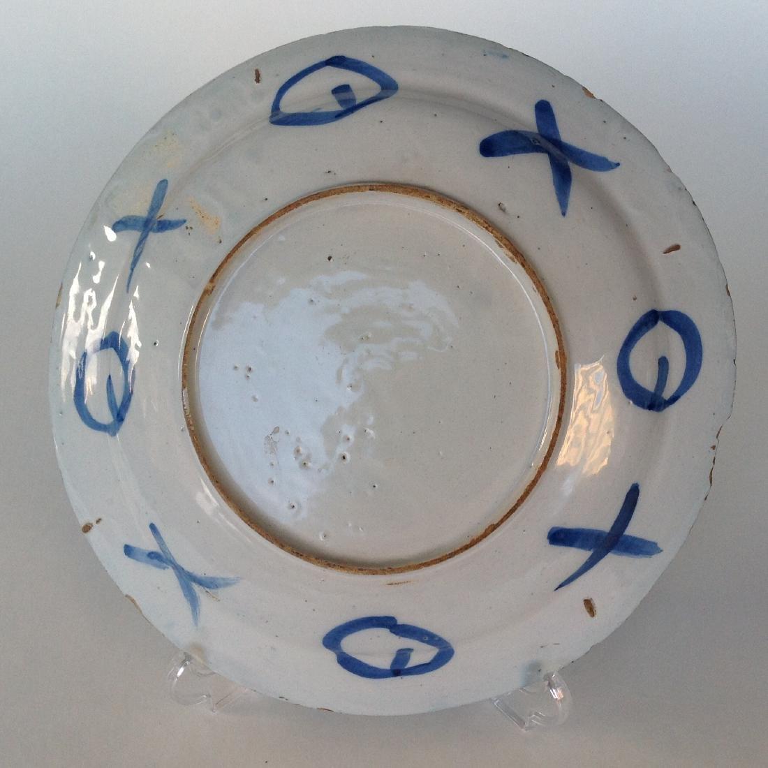 """An Dutch Delft plate """"WanLI"""" - 4"""