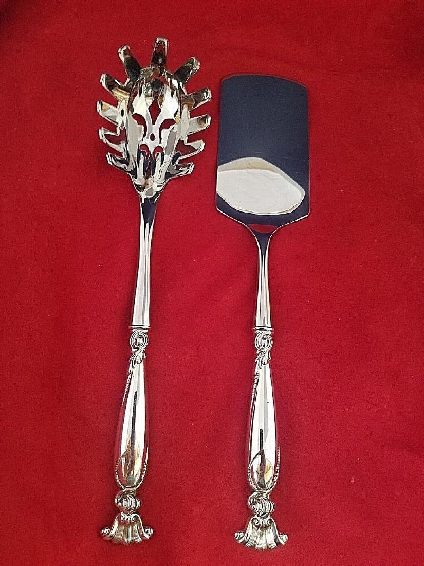 Romance of the Sea by Wallace Sterling Silver Lasagna