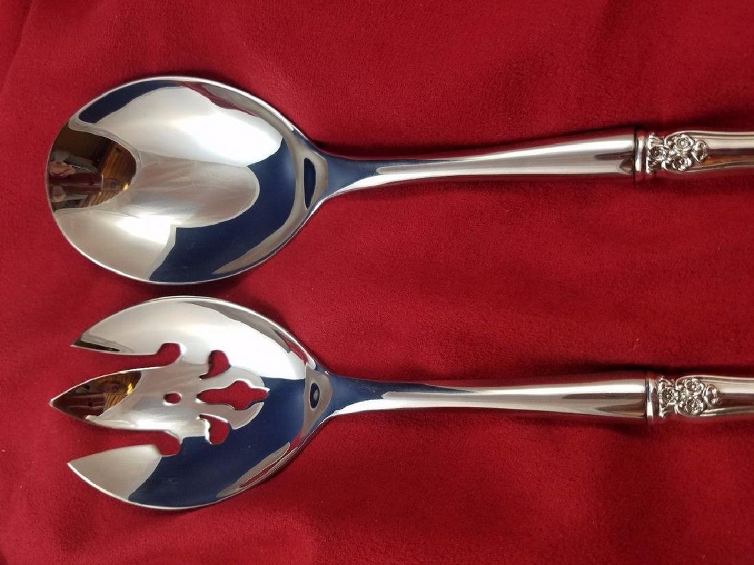 Buttercup by Gorham Sterling Silver Salad Set - 3