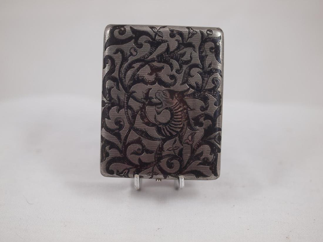 Nice antique cigarette case Isfahan