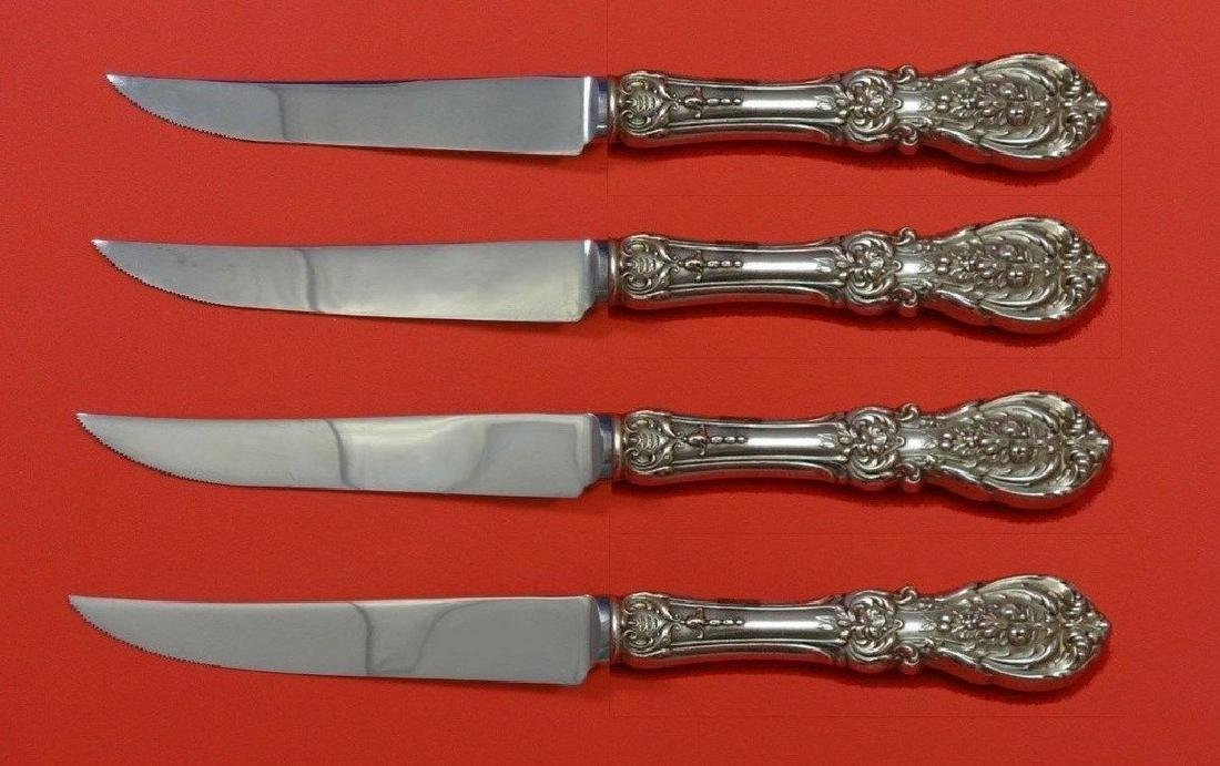 Set of 4 Francis I by Reed & Barton Sterling Silver
