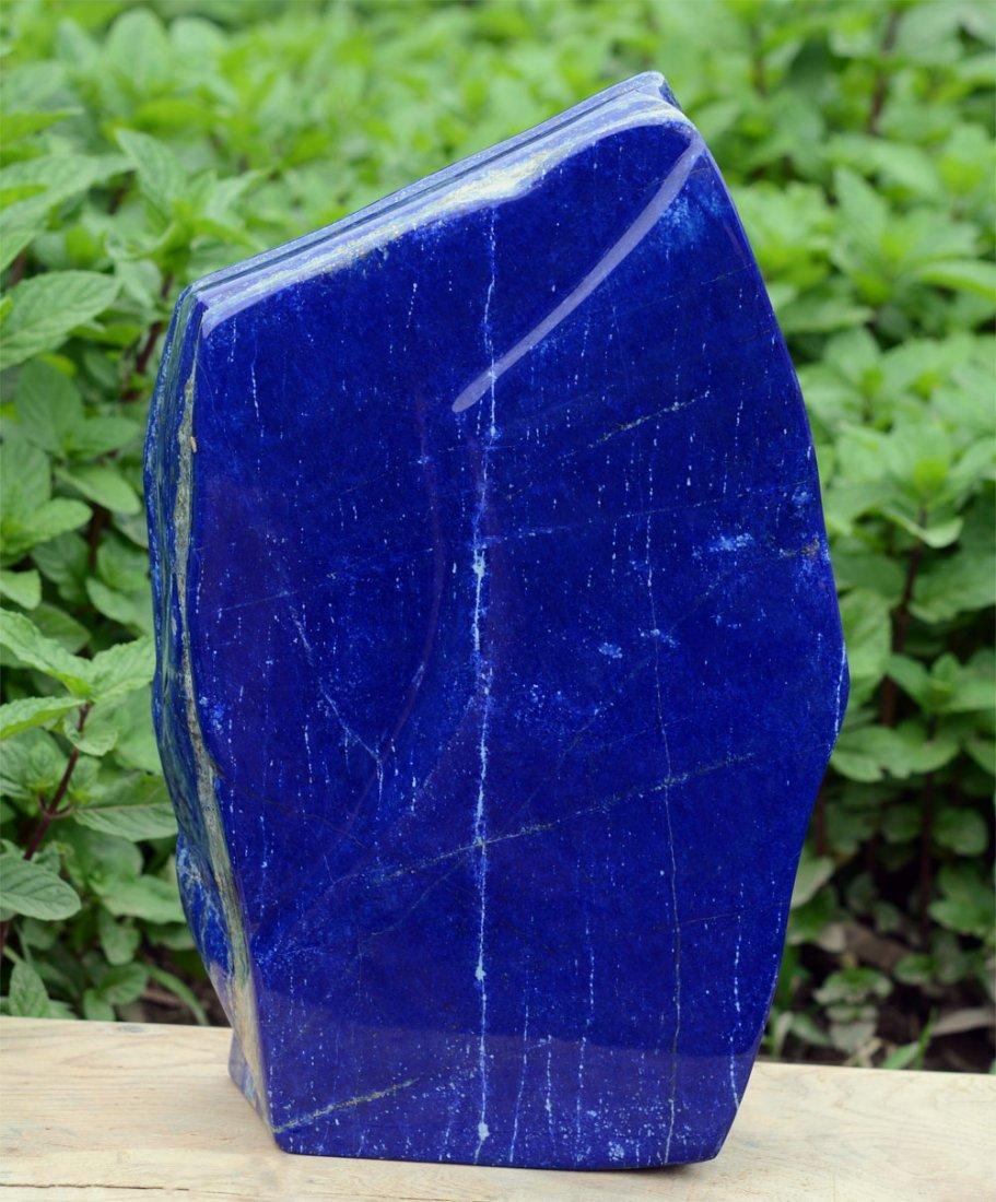Top Blue Lapis Lazuli Tumble~Afghanistan
