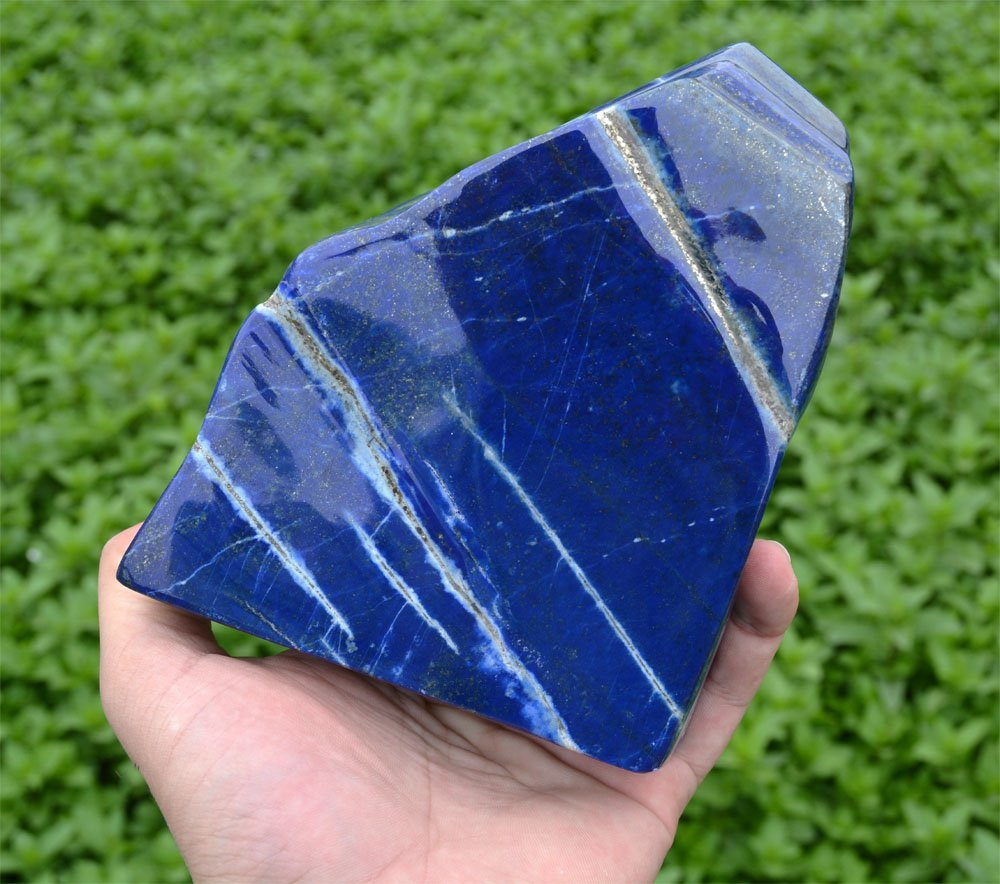 1444 Gram Lapis Lazuli Tumble~Afghanistan - 5
