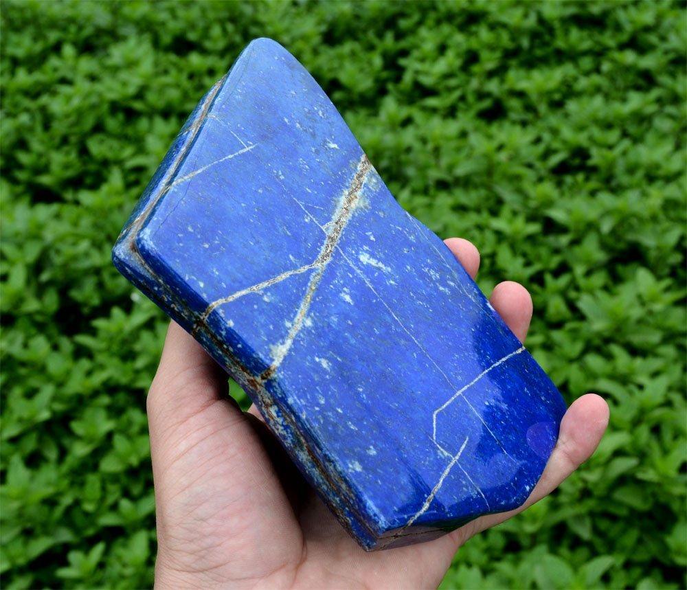 Bright Blue Lapis Lazuli Tumble~Afghanistan
