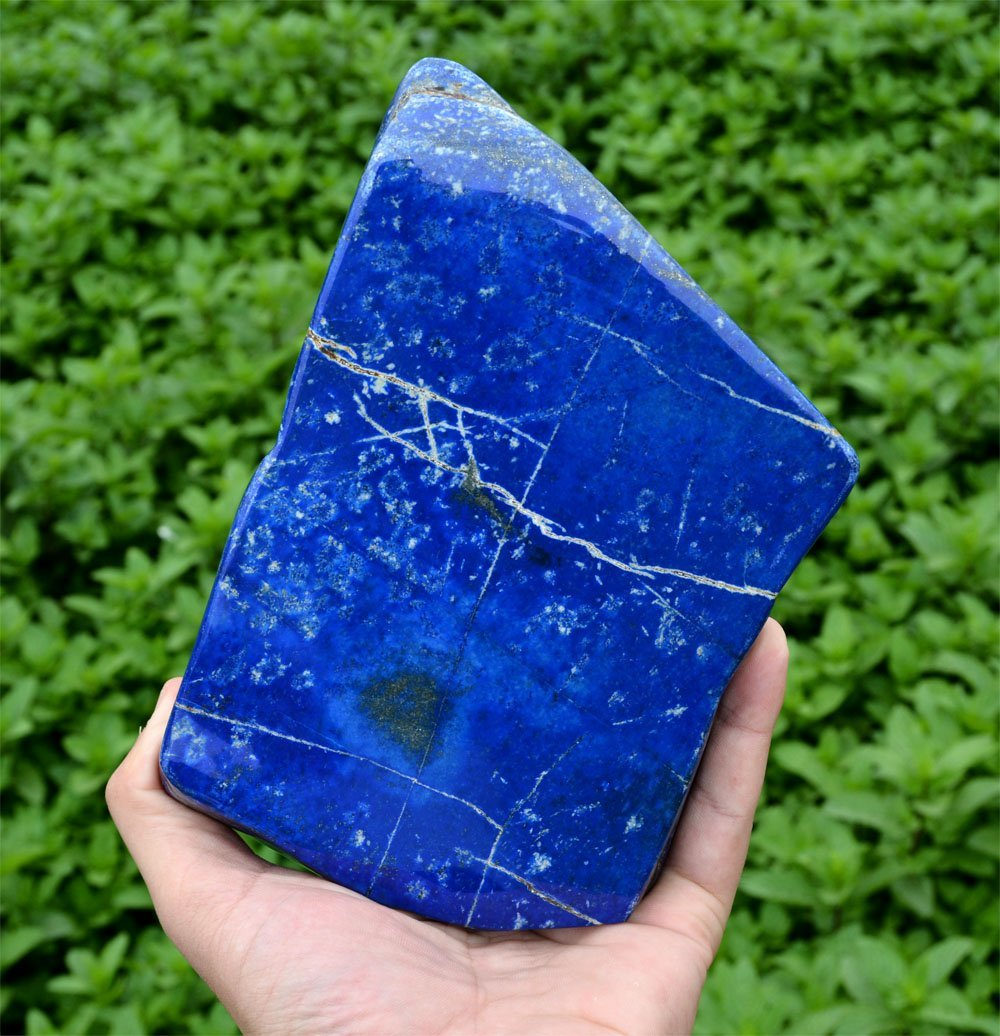 Bright Blue Lapis Lazuli Tumble~Afghanistan - 3