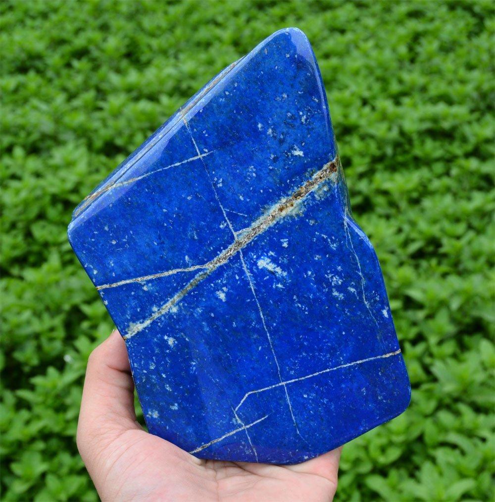 Bright Blue Lapis Lazuli Tumble~Afghanistan - 4