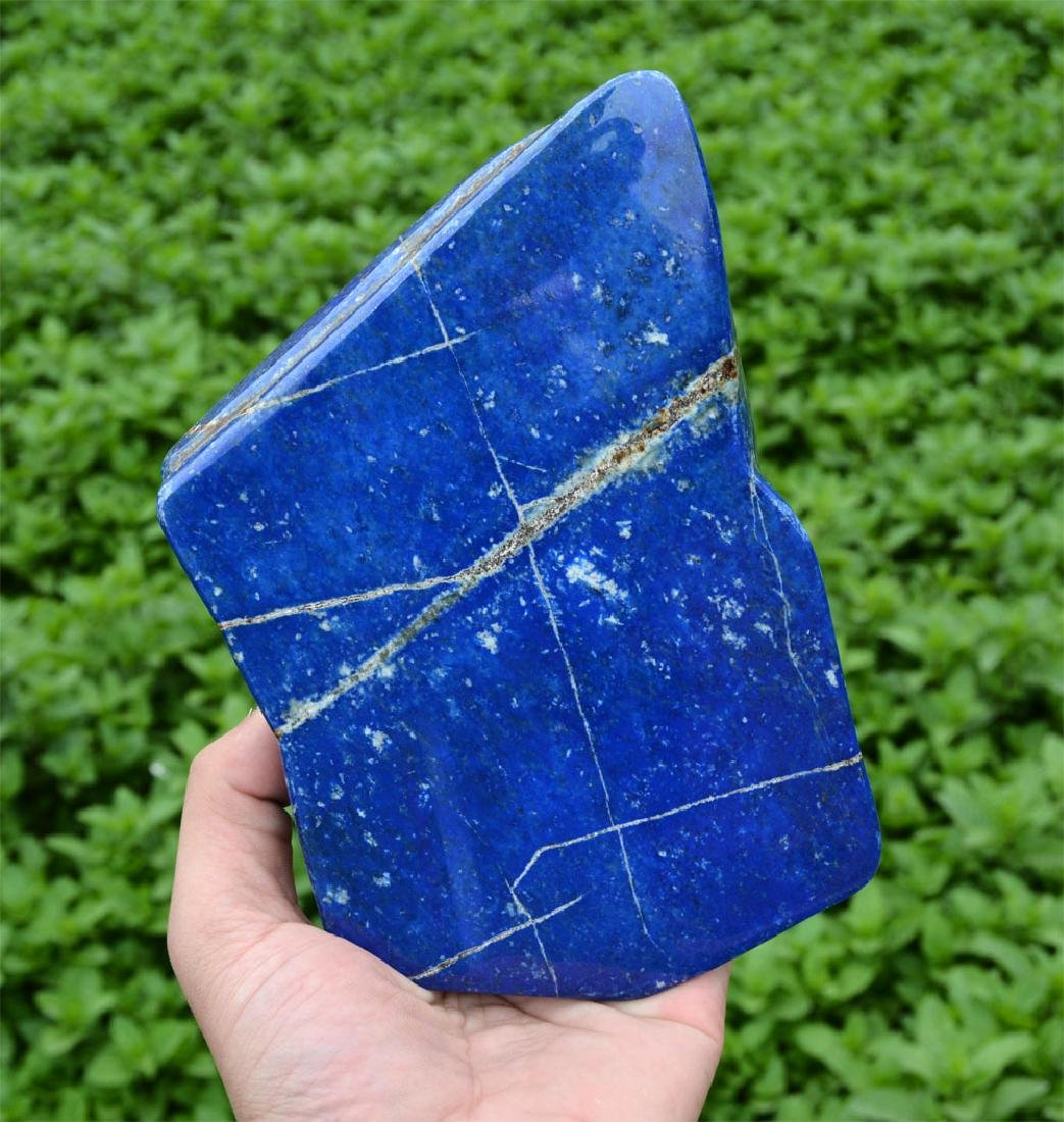 Bright Blue Lapis Lazuli Tumble~Afghanistan - 5