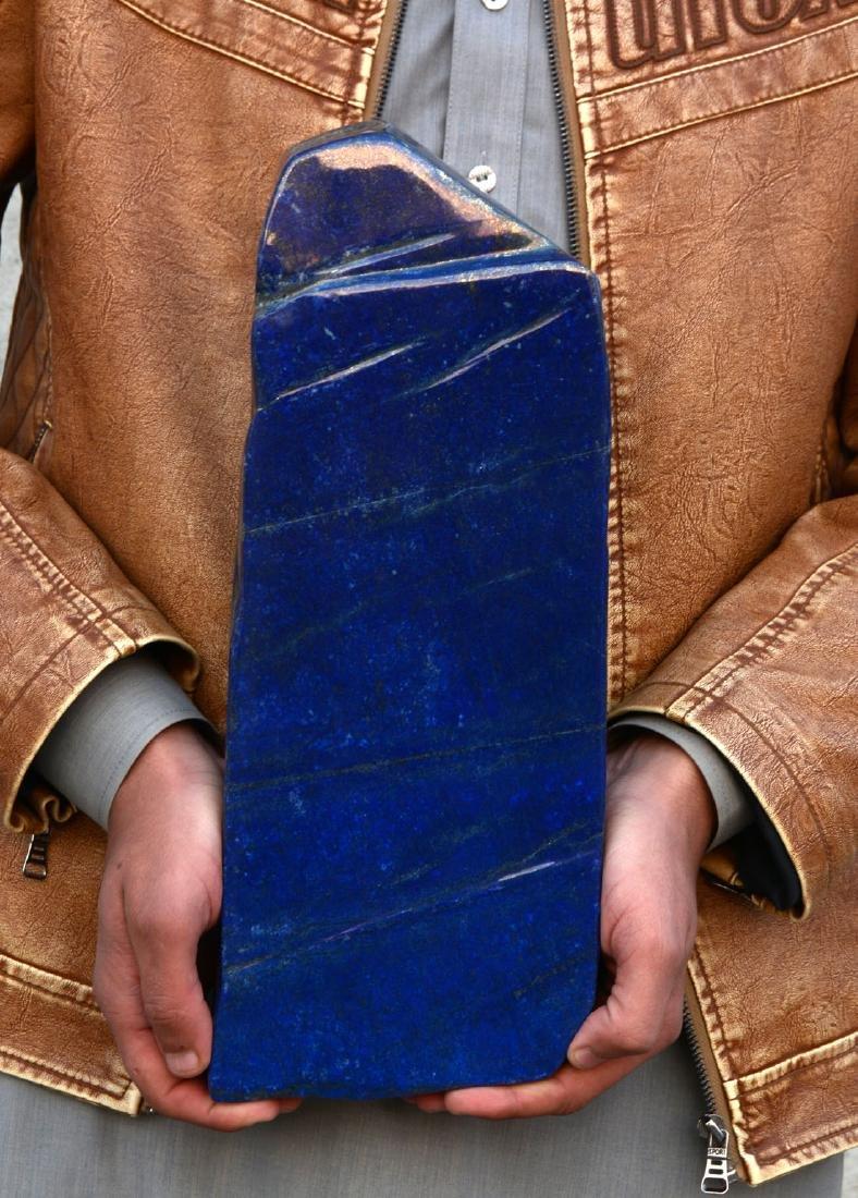 Bright Blue Lapis Lazuli Tumble~Afghanistan - 7