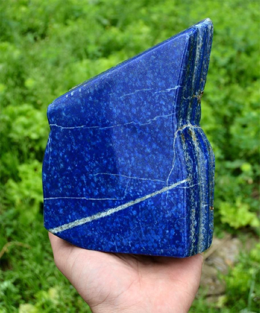 Bright Blue Lapis Lazuli Tumble~Afghanistan - 9