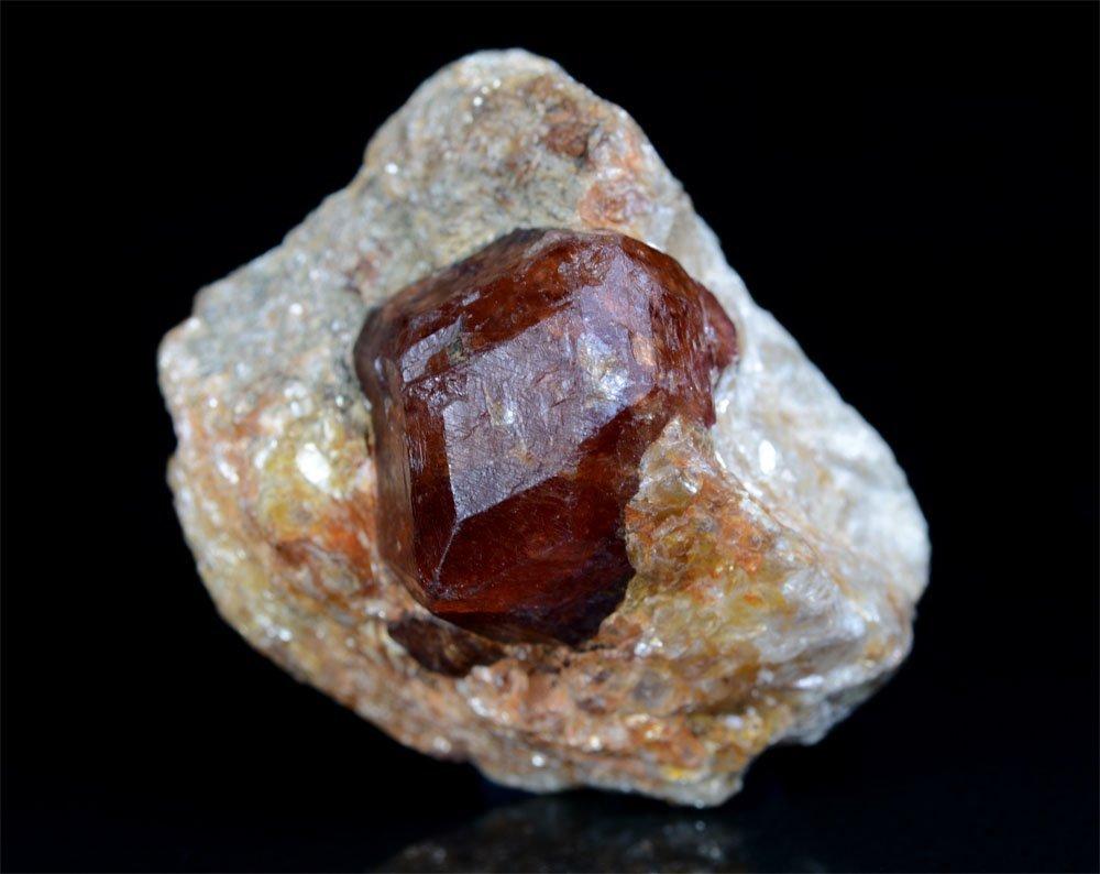 Almandine Garnet With Mica Specimen~Crystal Size 19x16 - 2