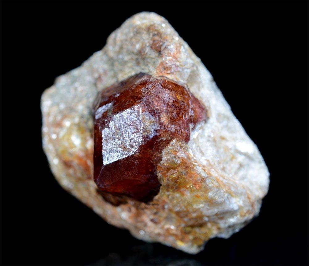 Almandine Garnet With Mica Specimen~Crystal Size 19x16 - 4