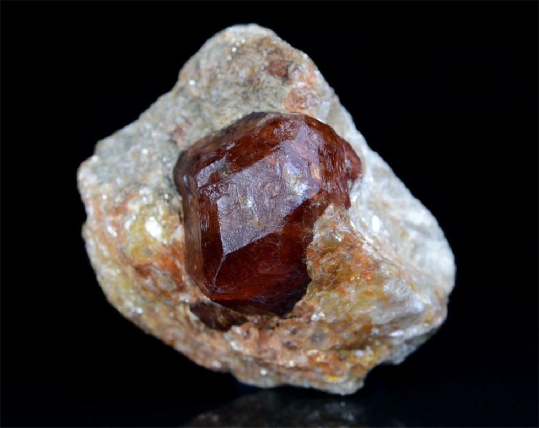 Almandine Garnet With Mica Specimen~Crystal Size 19x16 - 5