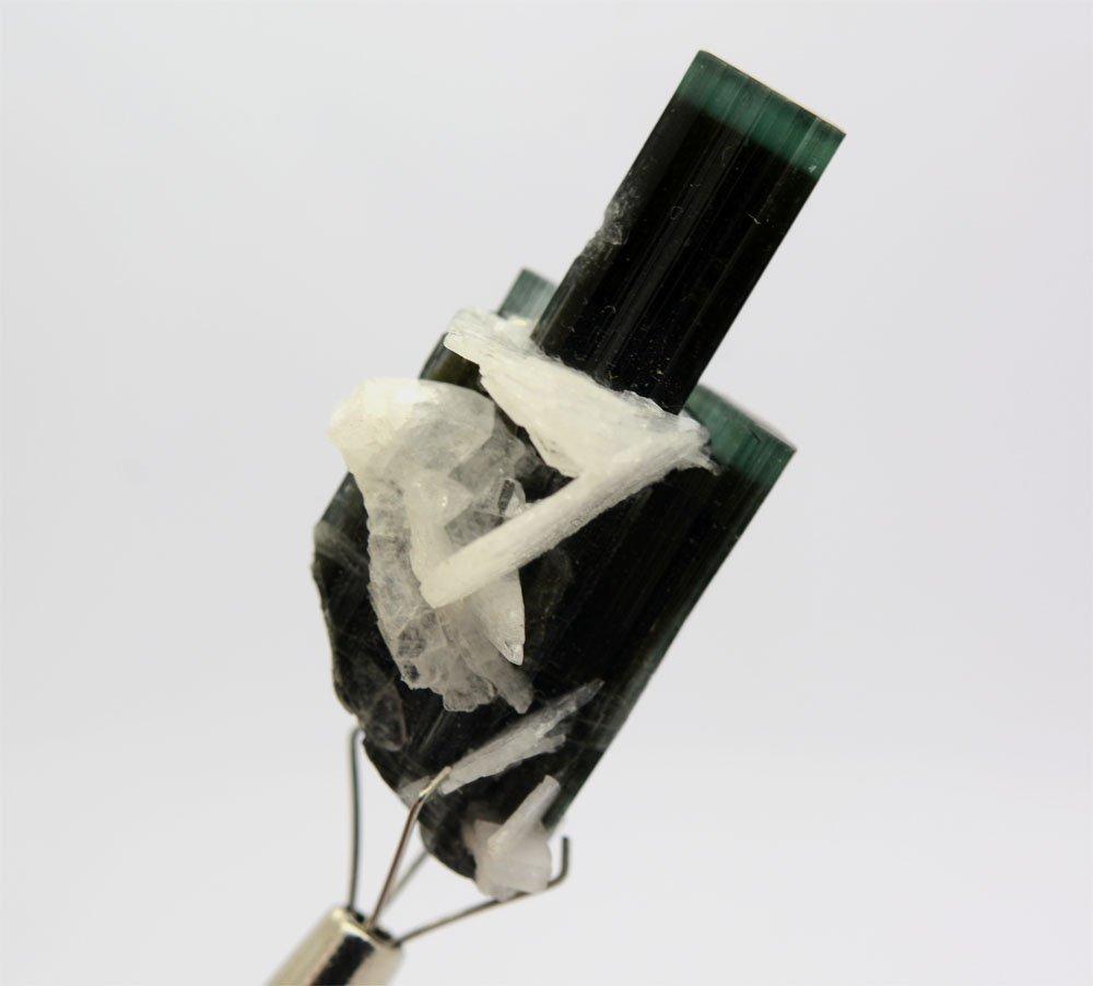 Green Cap Tourmaline Crystals~Pakistan - 3