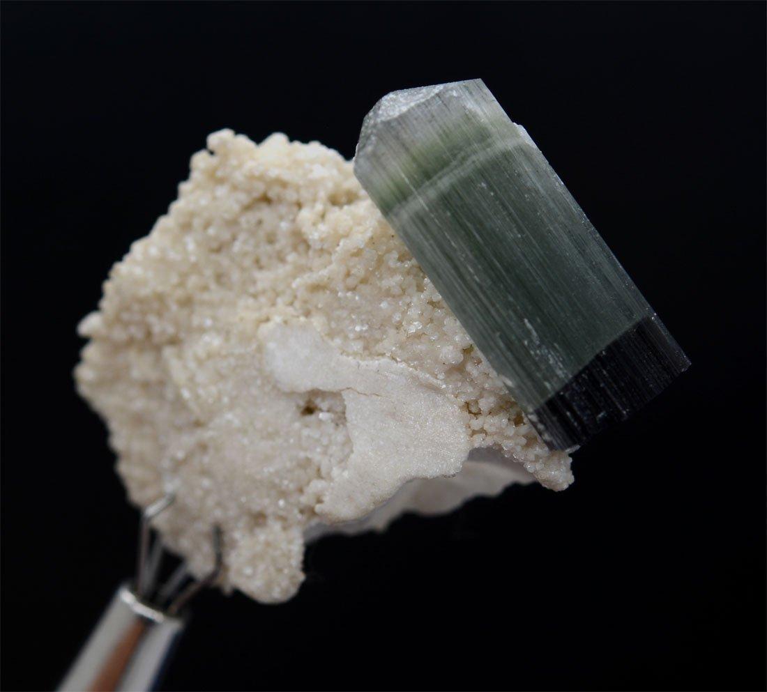 Bi-Color Tourmaline With Feldsper Specimen~Pakistan