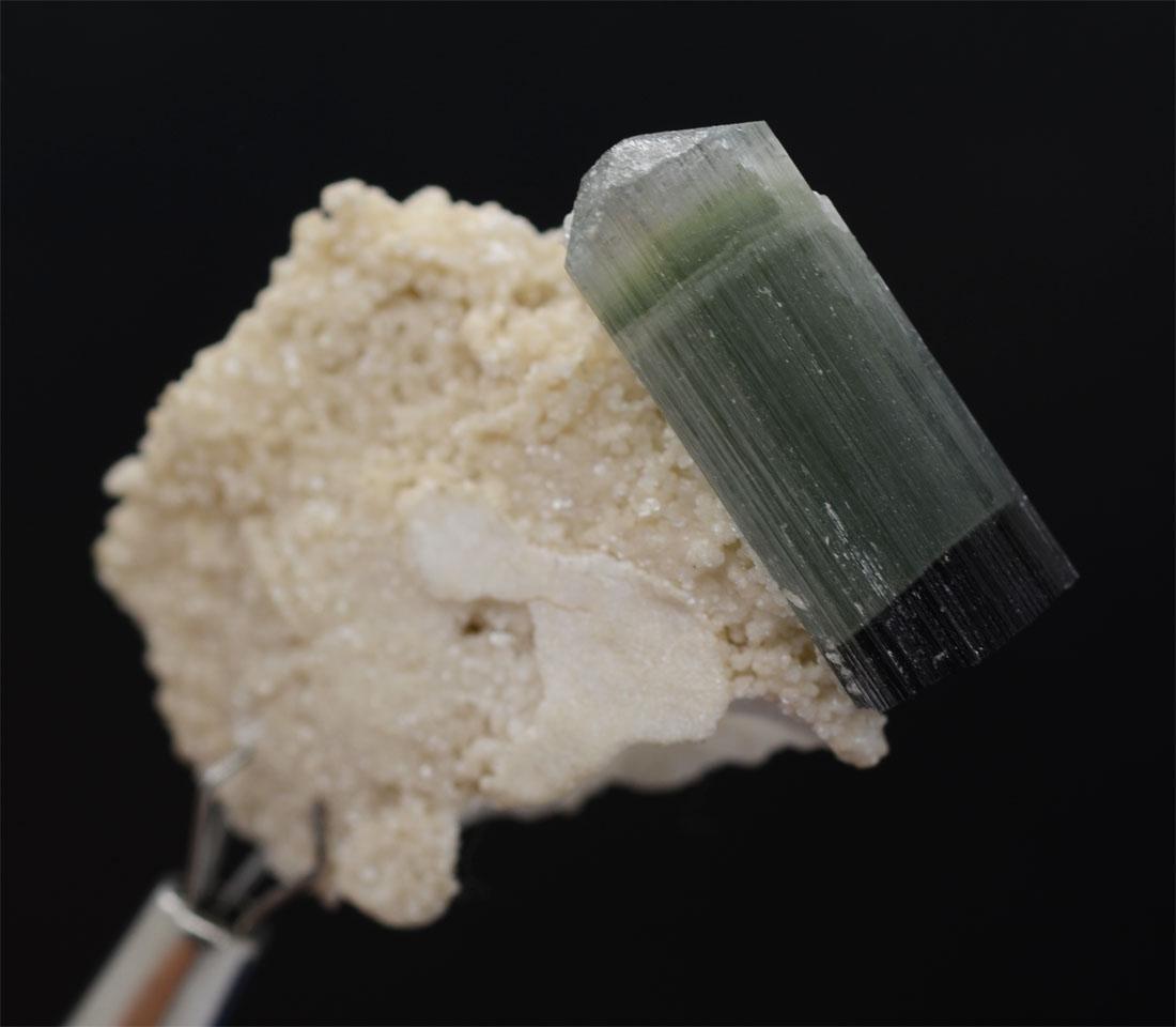 Bi-Color Tourmaline With Feldsper Specimen~Pakistan - 7