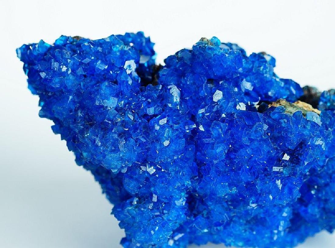 Chalcanthite Big Electric Blue cluster - lab grown