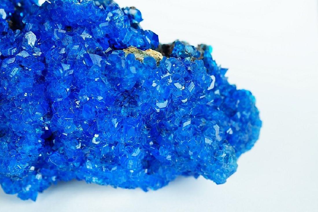Chalcanthite Big Electric Blue cluster - lab grown - 2