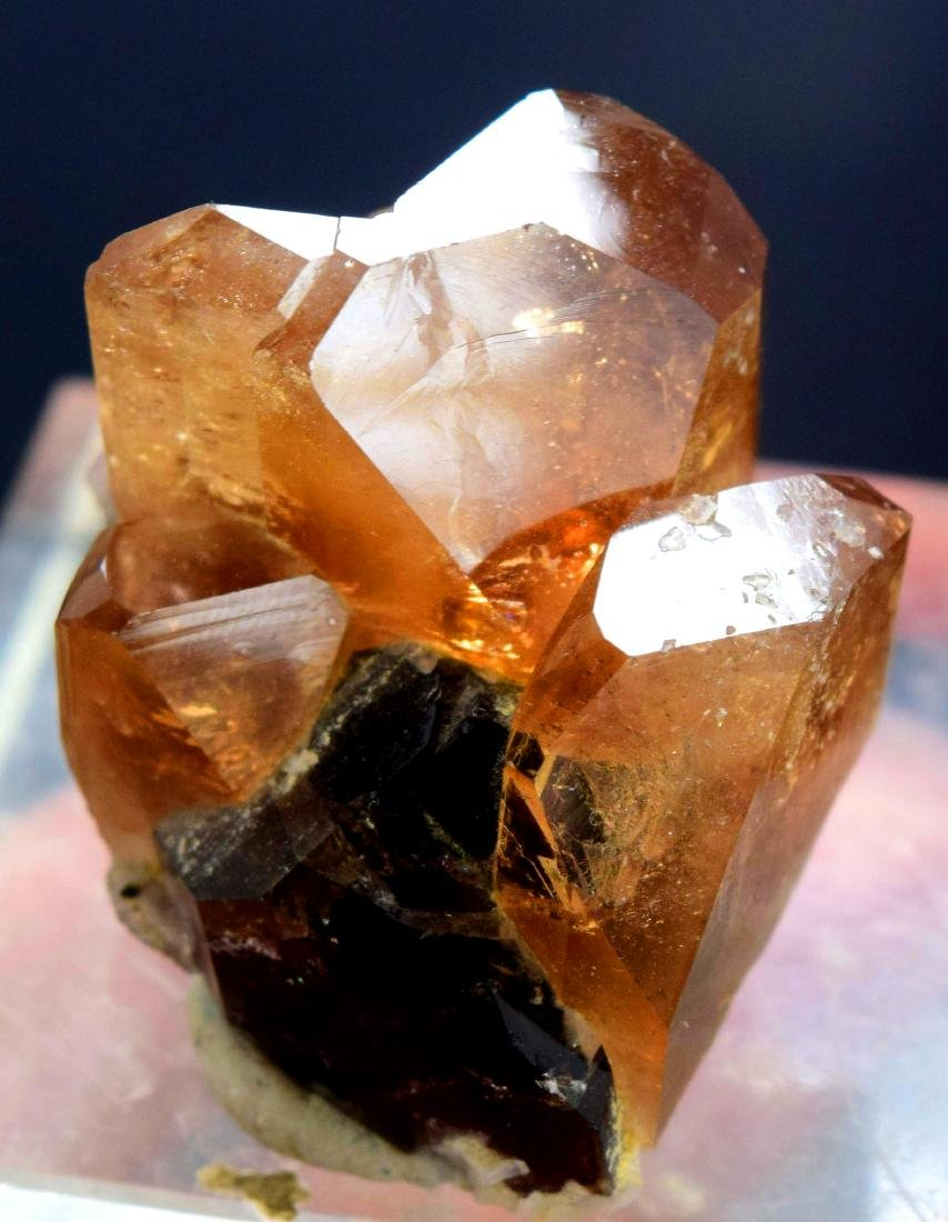 39 Gram terminated and undamaged champagne color topaz - 3