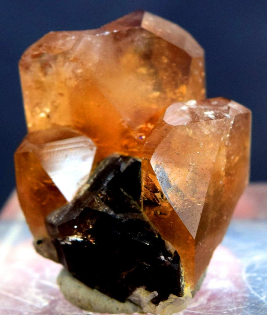 39 Gram terminated and undamaged champagne color topaz - 4