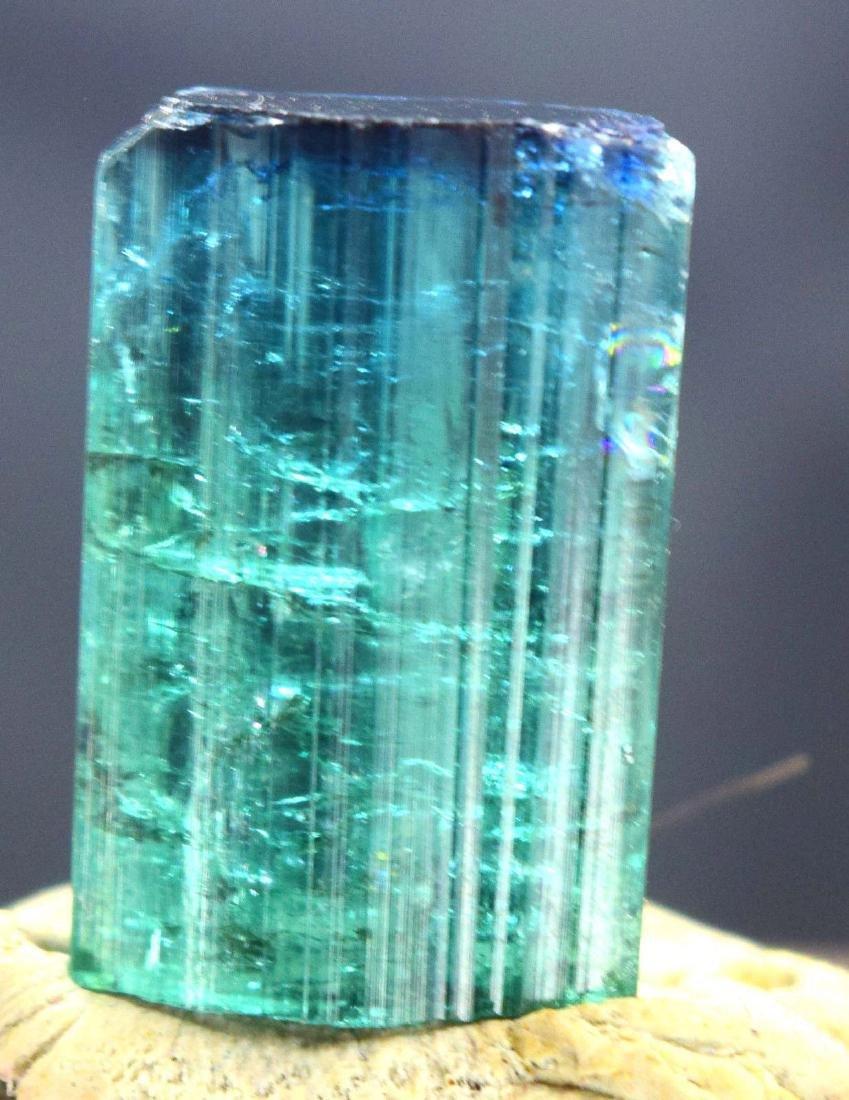 Terminated Gem Grade Natural Blue Cap Tourmaline