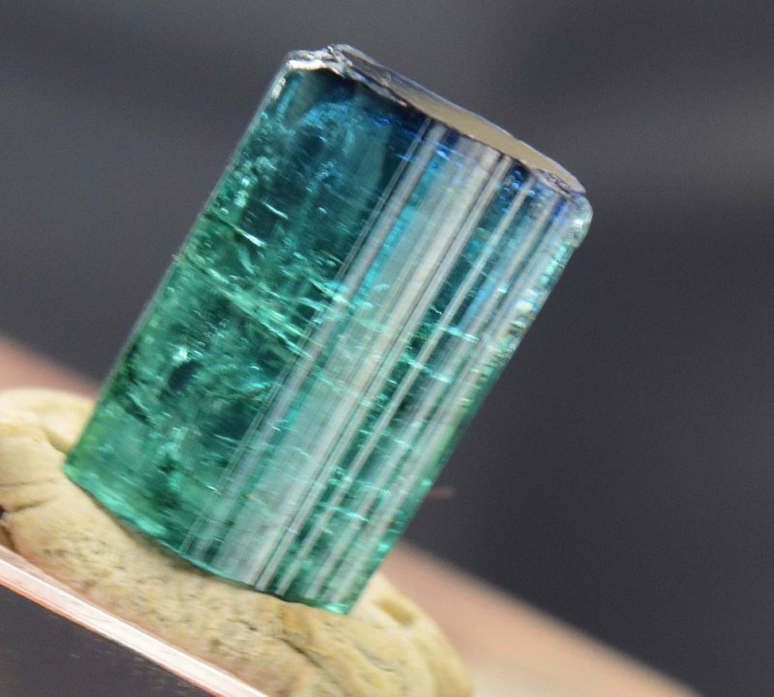 Terminated Gem Grade Natural Blue Cap Tourmaline - 3