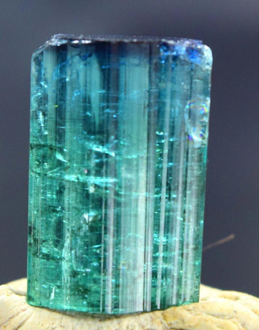 Terminated Gem Grade Natural Blue Cap Tourmaline - 4