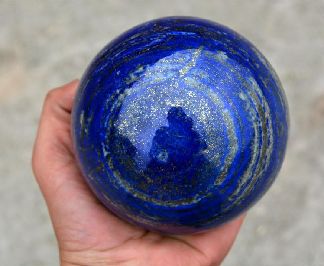 Lapis Lazuli Sphere~Afghanistan - 2