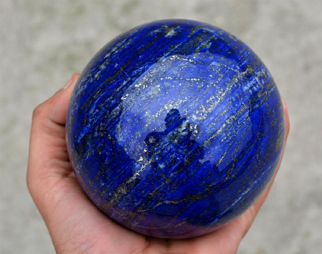 Lapis Lazuli Sphere~Afghanistan - 4