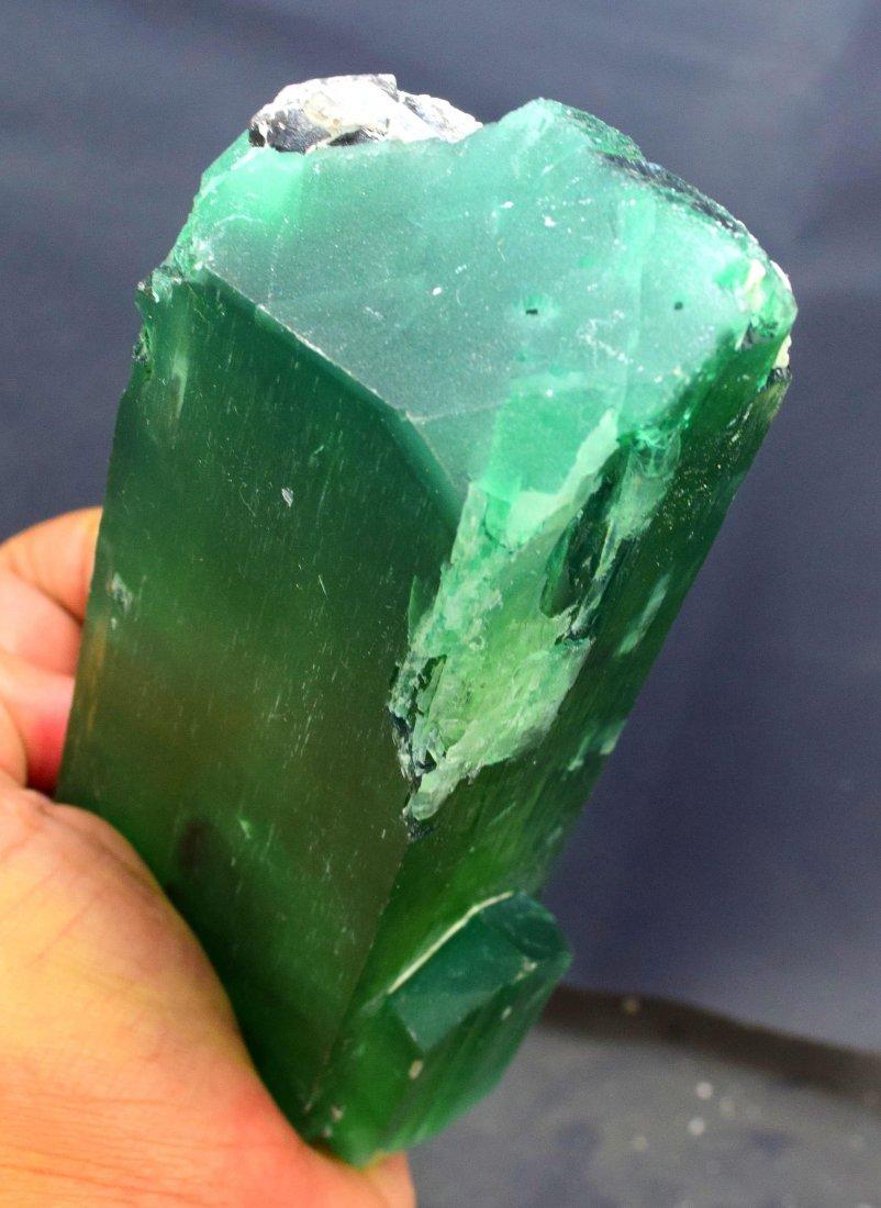 1019 Gram v-shape terminated and undamaged lush green - 7