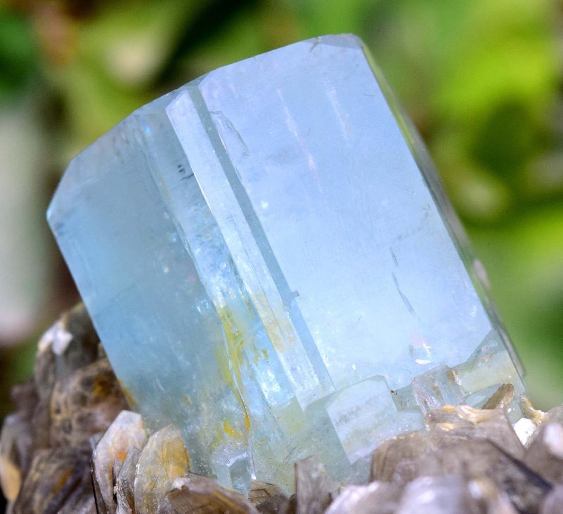 Damage Free and Aesthetic Natural Aquamarine Crystal - 3