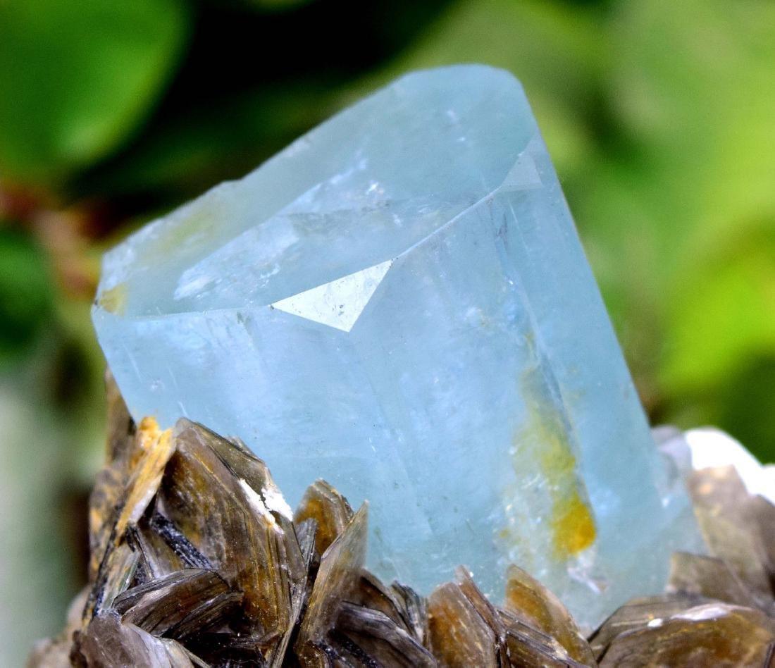 Damage Free and Aesthetic Natural Aquamarine Crystal - 4