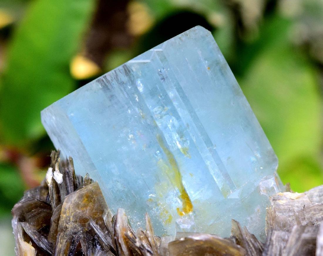 Damage Free and Aesthetic Natural Aquamarine Crystal - 9