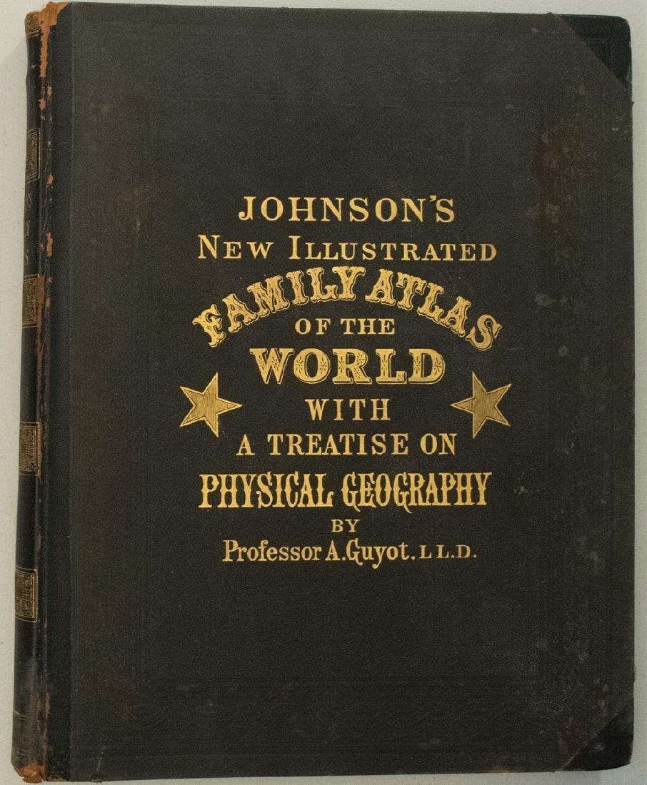 1885 Johnson's Family Atlas of the World -- Johnson's