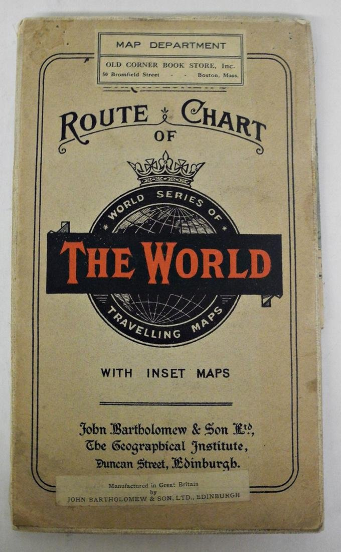 Untitled. [the World On Mercator's Projection]