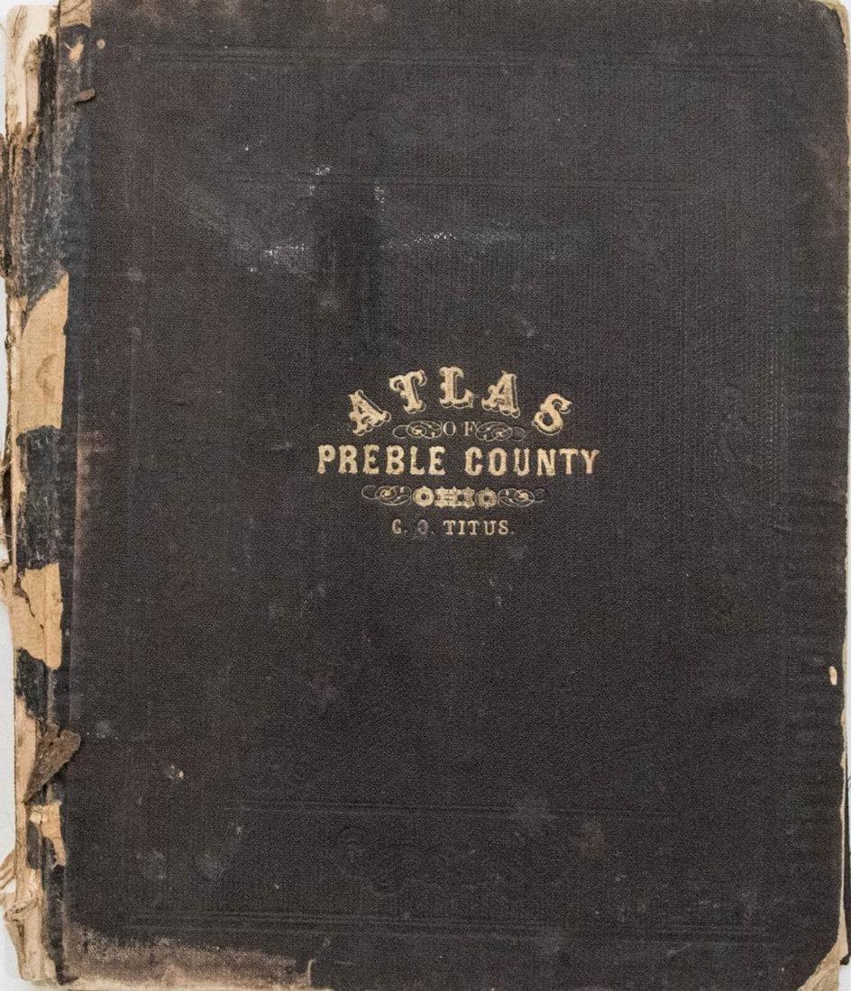 1871 Titus Atlas of Preble County, Ohio - Atlas of