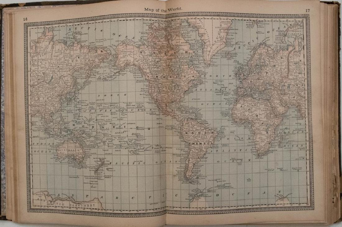 1882 Hardesty Atlas of the USA, Bible Geography and - 2