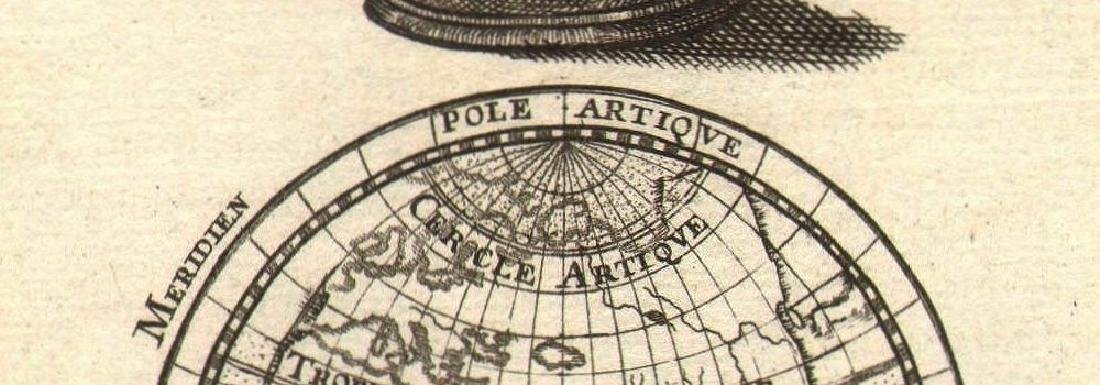 ARMILLARY SPHERE. compared to a Globe. Astrolabe. - 2