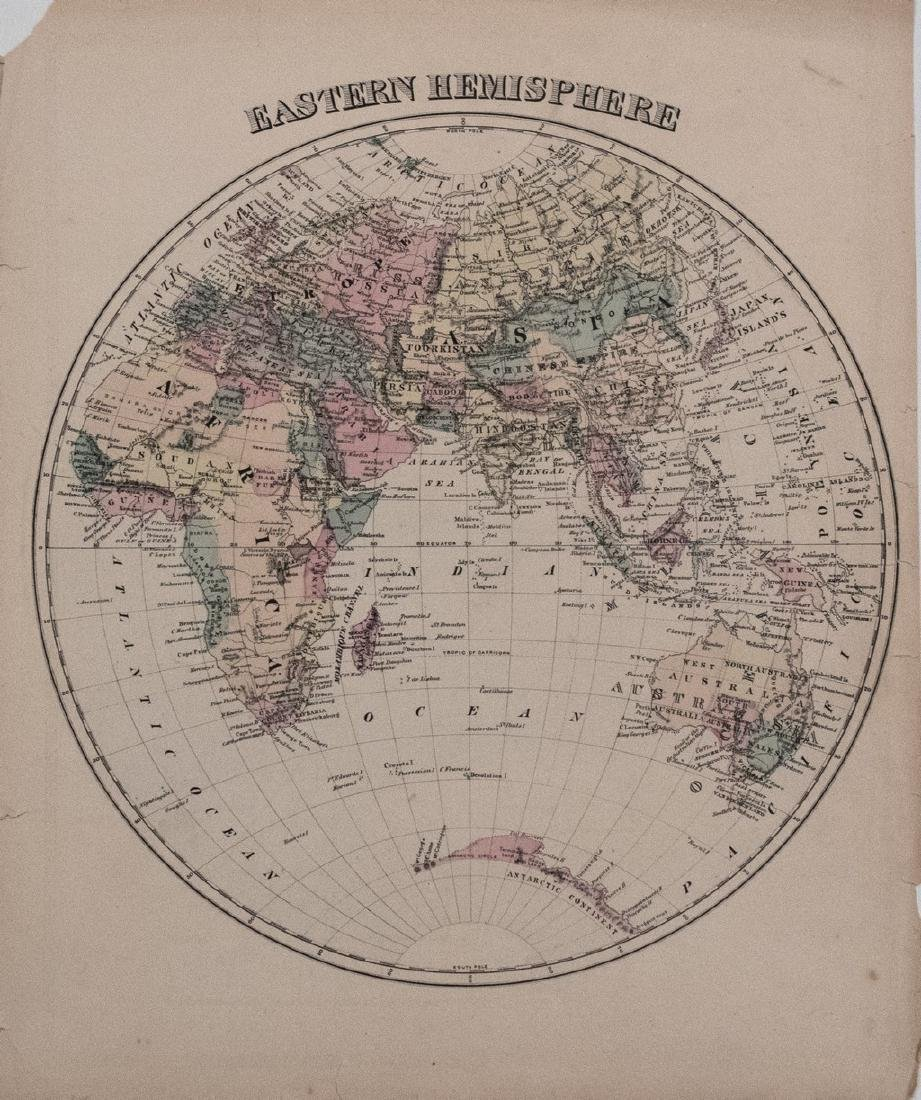 1878 Warner Beers Eastern Hemisphere -- Eastern