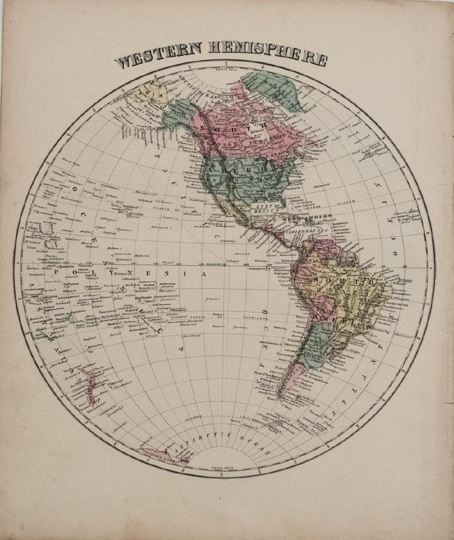 1878 Warner Beers Western Hemisphere -- Western